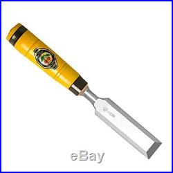 1205024 Carpenters Chisel With Horn Beam Handle, Yellowithsilver