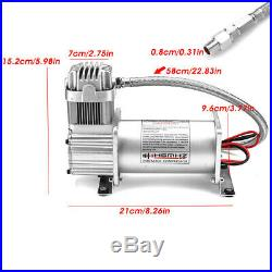 150 PSI Air Compressor for Car Truck Train Horns Bag Suspension with