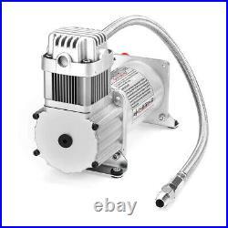 150 PSI Air Compressor for Car Truck Train Horns Bag Suspension with 1/4'' Hose
