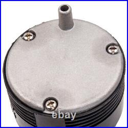 150DB Air Horn Dual Trumpet With Air Compressor For Car High Quality Silver