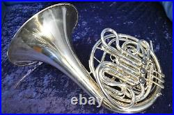 1966 Reynolds Contempora Model FE-01 Double French Horn with Case and Mouthpiece
