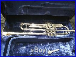 1975 Benge 5X #16642 with Case & 3 Mouthpieces Great Horn 1st Trigger