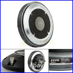 2 Exit Compression Horn Driver with 3 Voice Coil Titanium 8 Ohm Audiopipe New