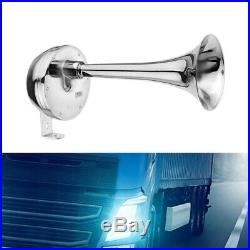 5X12V 126DB Car Universal Super Loud Air Horn Chrome Tracheal with Bracket Y4S2