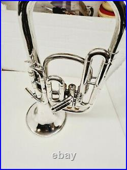 AMERICAN STANDARD HIGH GRADE Eb ALTO HORN WITH YAMAHA MOUTH PIECE