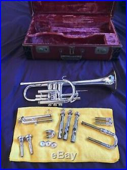 BLESSING SUPER ARTIST CORNET (TRUMPET) PROFESSIONAL, AMAZING HORN with CASE