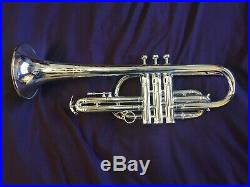 BLESSING SUPER ARTIST CORNET (TRUMPET) PROFESSIONAL, GREAT HORN with CASE