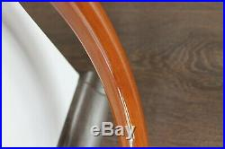 BMW Vintage Wood Steering Wheel Chrome Spoke 15 inch 380mm With horn button