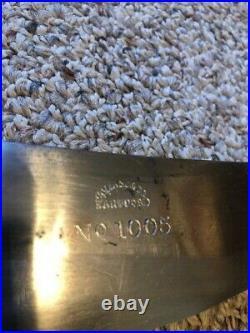 Collins & Co. Bolo Knife With Sheath