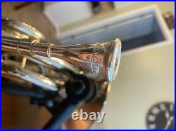 Conn 8D Double Horn with Screw Bell and Add-ons (Good condition, Nickle Silver)