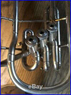 Conn Alto Horn Silver Plated With Case