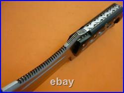 Custom Handmade D2 Steel Jungle Hunting Bowie Knife with Black Bull Horn Handle