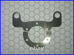 Dry Carbon Horn Switch With Silver-In-The-Top Cover Racing Button