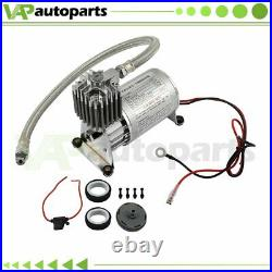 Fits Car/Truck/Train/Boat Air Horn 12V 150PSI Air Compresson with 30A Fuse kit