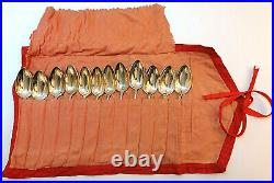 Flatware Spoon For 12 Persons 90 Silver From Wmf 2000 With Case Art Nouveau