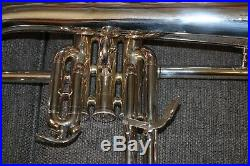Flugelhorn Yamaha YFH6310Z Professional Silver Horn with case and mouthpiece