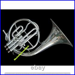 French Horn (mellophone) In Bb Pitch With Extra Slide For F-tune+ Case+free Ship