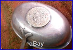 Georgian Horn Handled Silver Toddy Ladle With 1787 Coin Inset Into Bowl