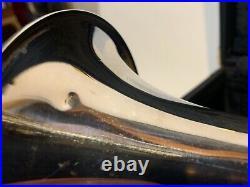 Gerhard Schneider Stencil Challenger Trumpet Horn Germany Silver With Gold