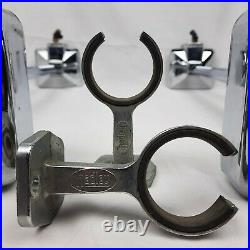Hadley Products Air Horns with Mounting Brackets- Chrome- FREE SHIPPING