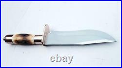 Hand Forged From D2 Tool Steel One of the Best Hunting Bowie Knife With Copper
