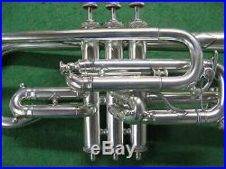 Henri Gautier Cornet Stunning horn With #1 and #2 Mouthpieces Bb A and Case