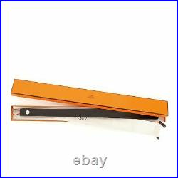 Hermes Shoe Horn Wood with Stainless Steel Long