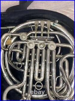 Holton Double French Horn with Case and Books