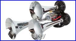 HornBlasters Caboose 127H Loud Train Air Horn Set Kit with VIAIR 275C Compressor