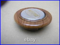 JDM NISMO Horn Button with Old Logo Wood&Silver Rare Japan Import Z Silvia F/S
