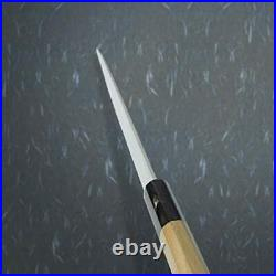 Japanese Paring Knife Powdered HSS 135mm with Octagonal Buffalo Horn Handle