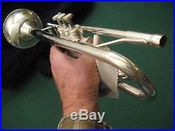 Jean Baptiste JTP-680S Trumpet, Silver Horn with Case and MP Refurbished