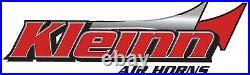 Kleinn Air Horns 500 ABS Chrome Plated Triple Horn with Universal Fitment