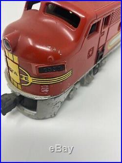 Lionel O Gauge Dummy Withhorn Santa Fe Locomotive #2353 with Original Box & Insert