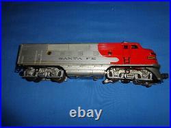 Lionel Postwar #2353 Santa Fe F3 Diesel Locomotive Dummy Unit with Horn