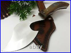 Louis Salvation Best Selling Handmade D2 Steel Hunting Axe With Ram Horn Handle