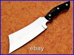 Louissalvation Perfect Stainless Steel Bull Horn Hunting Machete With Mosaic Pin