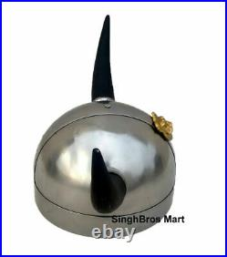 Medieval Viking Helmet With Horns Best Quality Collectible Larp Replica Handmade