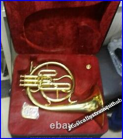 Mellophone (french Horn) In Bb Pitch With Extra Slide For F-tune+ Case+free Ship