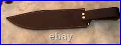 Ostra 12 D-2 Tool Steel Handmade Hunting/bowie Knife With Stag Horn Handle
