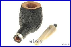 Pipe The Stump Group 1 Sandblasted With Real IN Silver And Ejector Horn Billi