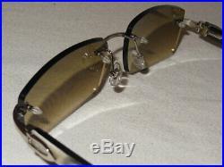 Plain Jane White Horn Buffs with Cognac Brown lenses 55-18-140
