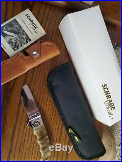 Schrade D' holder Knife Ram with Sheephorn Serial # 257 NEW IN BOX