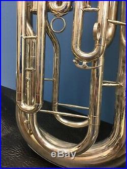 Selman 4 Valve Baritone Horn Euphonium With Case