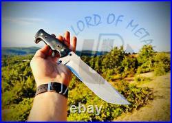 Ubr Custom Handmade D2-tool Steel Hunting Bowie Knife With Buffalo Horn