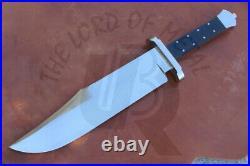 Ubr Custom Handmade D2-tool Steel Hunting Bowie Knife With Buffalo Horn Handle
