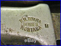 VINTAGE Ruana Sticker 5 Blade with Orig Scabbard