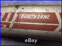 Vintage 1940's 50's Circa Hawthorne 26 Bicycle Horn Tank With Delta Horn