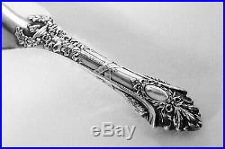 Vintage Sterling Silver Shoe Horn With Ornate Design By Bailey, Banks & Biddle