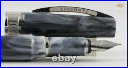 Visconti Mirage Horn With Silver Colour Trim Fountain Pen Magnificent Design